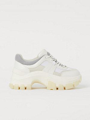H&M Chunky sneakers vit