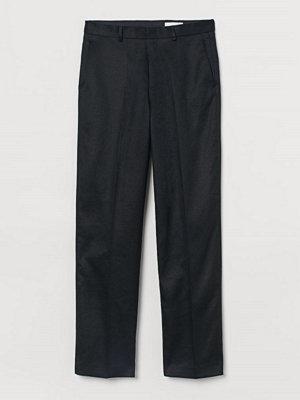 H&M Kostymbyxa i twill svart