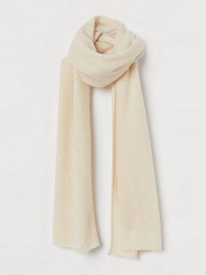H&M Halsduk i ull beige