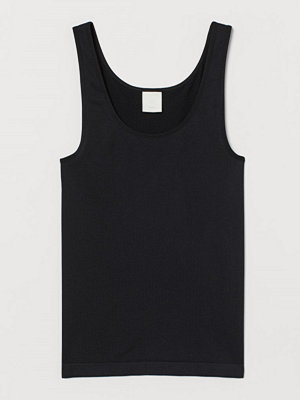 H&M Seamless tanktop svart