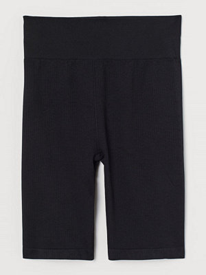 H&M Seamless bikers svart