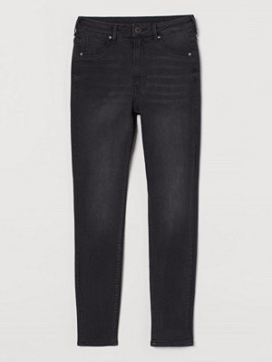 H&M Curvy High Jeggings svart