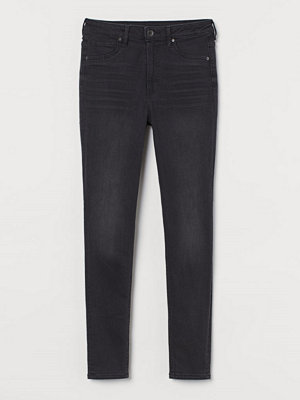H&M Curvy High Waist Jeggings svart