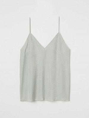 H&M Linne i modalmix grön