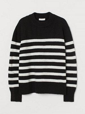 Tröjor - H&M Finstickad tröja svart