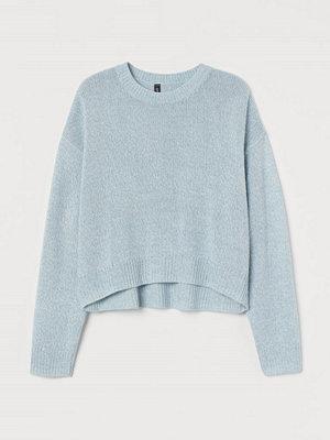 Tröjor - H&M Stickad tröja turkos