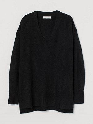 Tröjor - H&M Stickad tröja svart