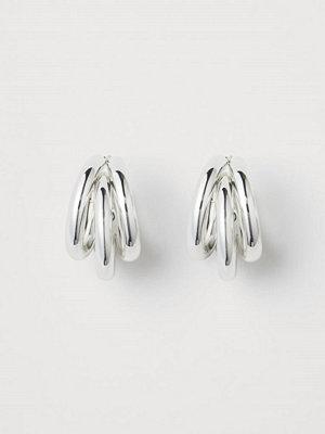 H&M Runda örhängen silver