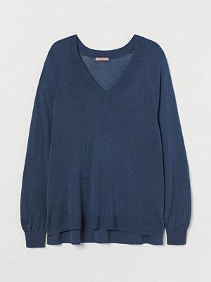 Tröjor - H&M H & M+ V-ringad tröja blå