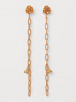 H&M örhängen Multifunktionella clips guld