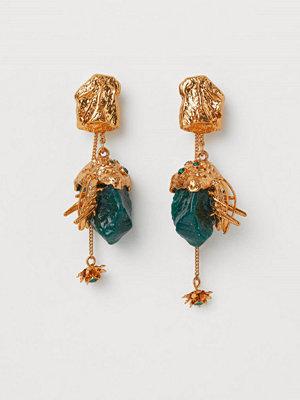 H&M Multifunktionella örhängen guld
