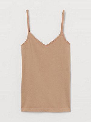 Linnen - H&M Seamless linne i micro beige