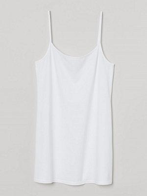 H&M H & M+ Långt linne vit