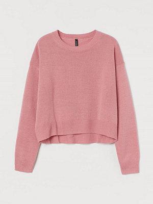 H&M Stickad tröja rosa