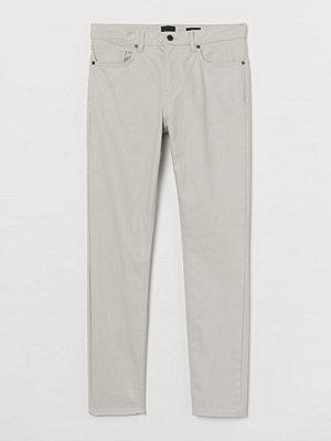 H&M Twillbyxa Skinny Fit beige