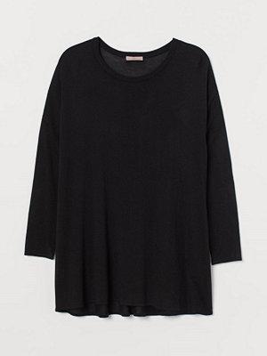 Tröjor - H&M H & M+ Finstickad tröja svart