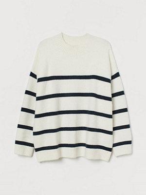 Tröjor - H&M H & M+ Stickad tröja vit