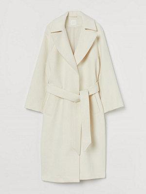 H&M Filtad kappa med skärp vit