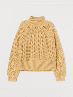 Tröjor - H&M Stickad tröja gul