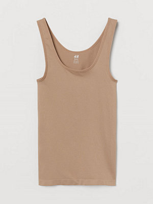 H&M Seamless tanktop beige
