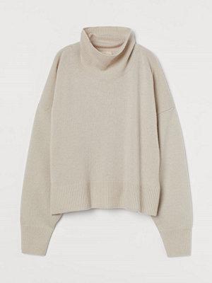Tröjor - H&M Polotröja i kashmir vit