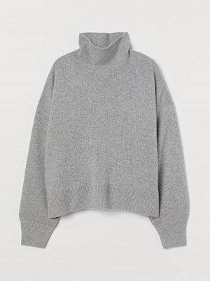 H&M Polotröja i kashmir grå
