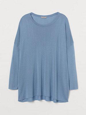 Tröjor - H&M H & M+ Finstickad tröja blå