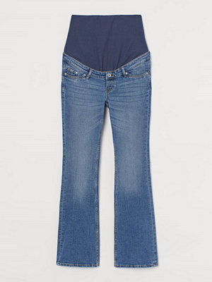 Jeans - H&M MAMA Bootcut Jeans blå