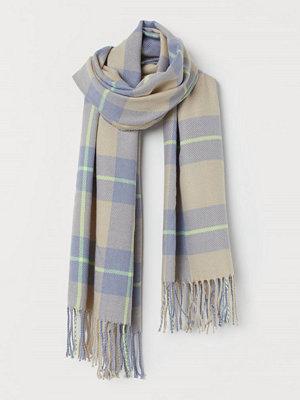 Halsdukar & scarves - H&M Jacquardvävd halsduk gul