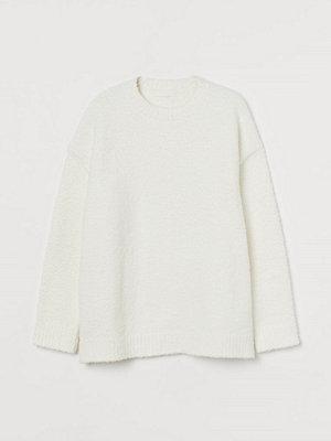 H&M Lurvig tröja vit