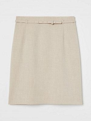 Kjolar - H&M Pennkjol beige