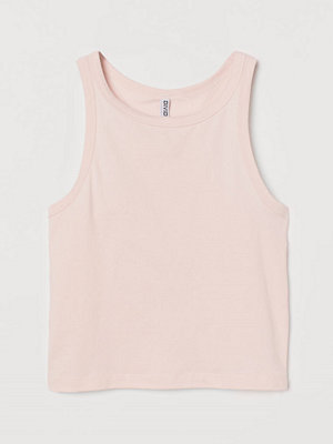 H&M Linne i bomull rosa