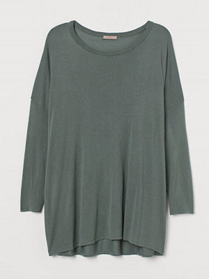 Tröjor - H&M H & M+ Finstickad tröja grön