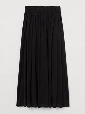 Kjolar - H&M Kjol i lyocell svart