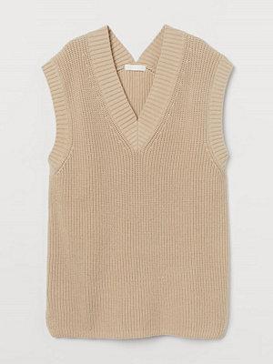 Tröjor - H&M Vid slipover beige