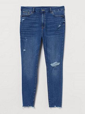 H&M H & M+ Embrace Shape Ankle Jeans blå