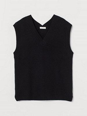 H&M Vid slipover svart