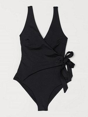Baddräkter - H&M Shape-baddräkt svart