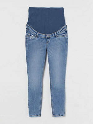 H&M MAMA Skinny Ankle Jeans blå