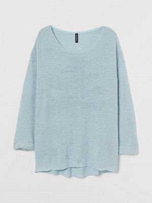 H&M Glesstickad tröja turkos