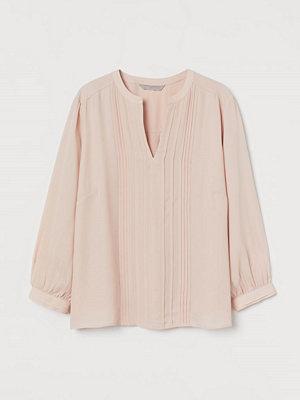 H&M Blus med stråveck rosa