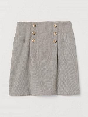 H&M Kort kjol brun