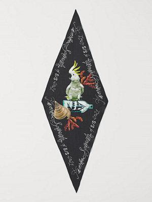 H&M Diamantskuren scarf svart