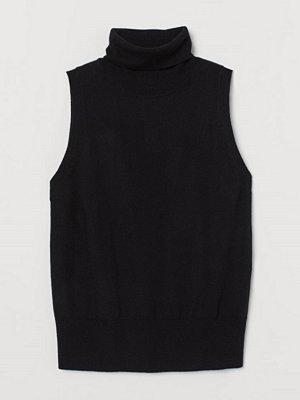 Tröjor - H&M Polotopp i kashmirmix svart