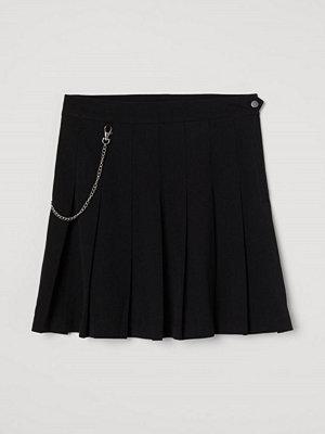 Kjolar - H&M Veckad kjol svart