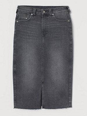 H&M Pennkjol i denim grå