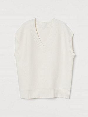 Tröjor - H&M Oversized slipover vit