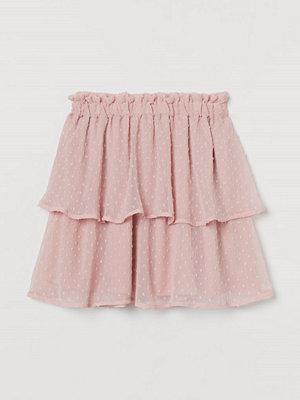 Kjolar - H&M Chiffongkjol rosa