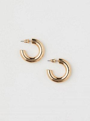 H&M Runda örhängen guld