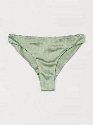 H&M Bikinitrosa brazilian grön